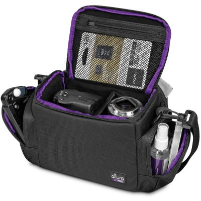 Camera Bag for DSLR, Mirrorless, Compact Cameras and Lenses