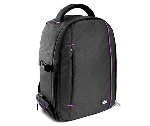 THE LIGHT TRAVELER SERIES - DSLR SMALL CAMERA BACKPACK